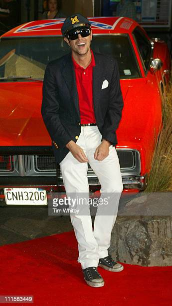 Johnny Knoxville during 'The Dukes of Hazzard' London Premiere Outside Arrivals at Vue Leicester Square in London Great Britain