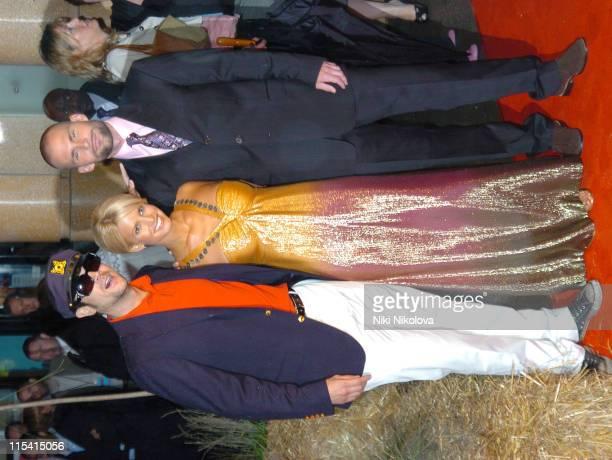 Johnny Knoxville Jessica Simpson and Sean William Scott