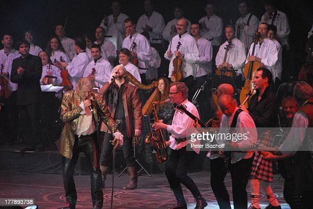 """Johnny Logan als """"König Arthur"""" , Alan Simon , John Helliwell , Martin Barre , Konan Mevel , Deutschlandpremiere """"Excalibur - Die musikalische..."""