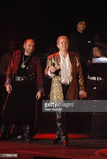Johnny Logan als König Arthur Michael Mendl Deutschlandpremiere Excalibur Die musikalische Auferstehung einer Legende von Alan Simon BremenArena...