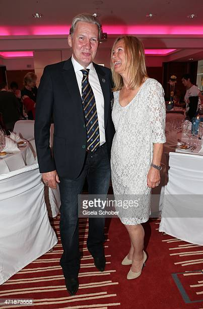 Johnny Logan and Sybille Beckenbauer during the Franz Roth Golf Cup gala evening in favour of Michael Roll Stiftung 'Tabaluga' on May 1, 2015 in Bad...