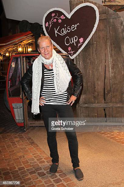 "Johnny Logan attends the get together at ""Bayerischer Abend"" prior the Kaiser Cup 2014 at hotel Maximilian on July 18, 2014 in Bad Griesbach near..."