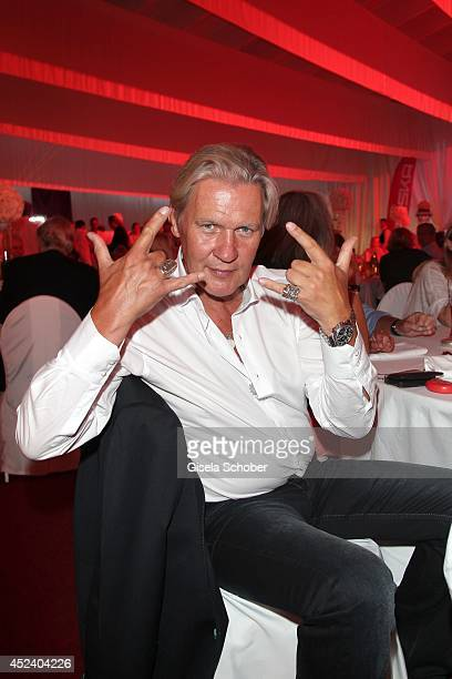 Johnny Logan attends the Kaiser Cup 2014 Gala on July 19, 2014 in Bad Griesbach near Passau, Germany.