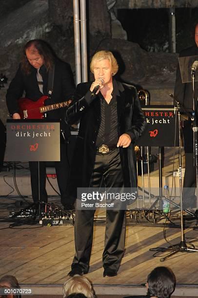 Johnny Logan, Background-Musiker, 2. Benefiz-Konzert zugunsten des parkinsonkranken Ex-Star-Tenor P E T E R HOFMANN, Naturbühne Luisenburg,...