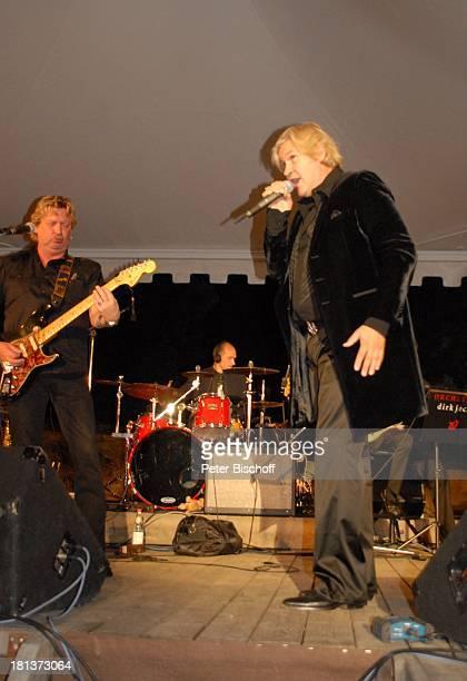 Johnny Logan mit Bruder Mick , 2. Benefiz-Konzert zugunsten des parkinsonkranken Ex-Star-Tenor P E T E R HOFMANN, Naturbühne Luisenburg, Wunsiedel,...