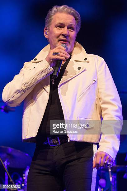 Johnny Logan performs during the 'We Love the 80's' Festival at Telenor Arena on May 7, 2016 in Oslo, Norway.
