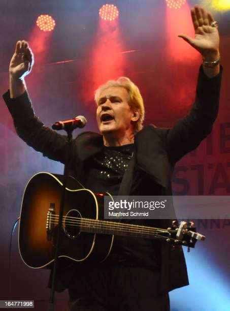 Johnny Logan performs on stage during the Donauinselfest Wien on June 24, 2012 in Vienna, Austria.