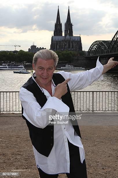 Johnny Logan gewann 2 x als Sänger 1980 und 1987 sowie einmal als Komponist den Grand Prix heute Eurovision Song Contest PK zum WDRKonzertabend ESC...
