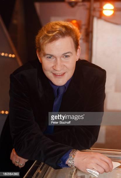 """Johnny Logan, Porträt, Sänger, geb.: 13.;Mai 1955, Sternzeichen: Stier,;ZDF-Musikshow """"Die Stunde der Stars-;Menschen, Musik und M i c h a e l S c h..."""