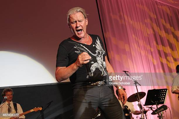 Johnny Logan sings at the Kaiser Cup 2014 Gala on July 19 2014 in Bad Griesbach near Passau Germany