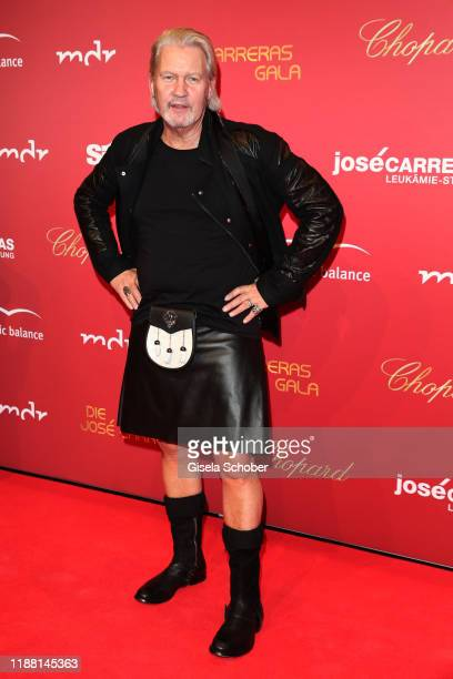 Johnny Logan skilt during the 25th annual Jose Carreras Gala on December 12 2019 at Messe Leipzig in Leipzig Germany