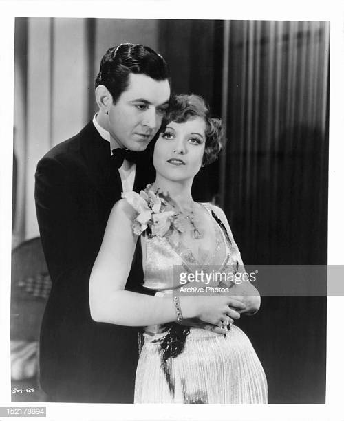 Johnny Mack Brown holding Joan Crawford in a scene from the film 'Our Dancing Daughters' 1928