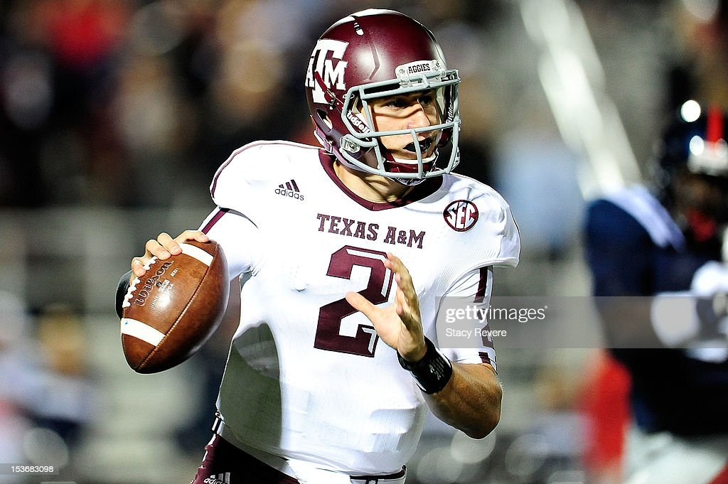 Texas A&M v Mississippi : News Photo