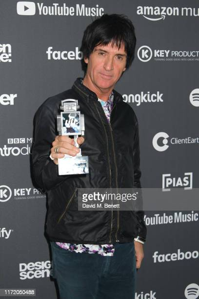 Johnny Marr attends the Association of Independent Music Awards 2019 at The Roundhouse on September 03 2019 in London England