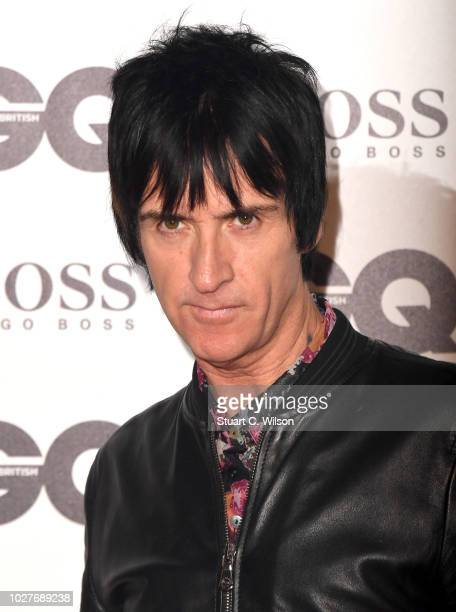 Johnny Marr attends the GQ Men of the Year awards at the Tate Modern on September 5 2018 in London England