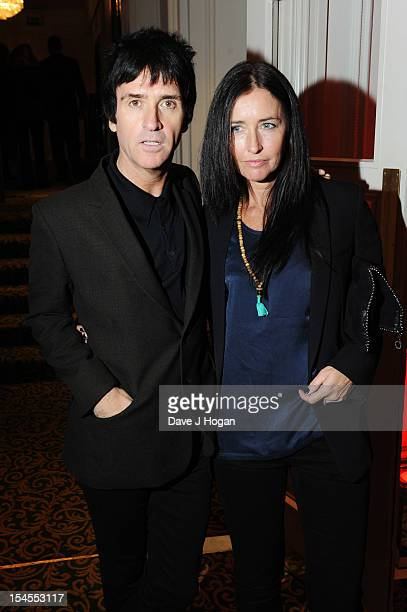 Johnny Marr attends the Q Awards 2012 at The Grosvenor House Hotel on October 22 2012 in London England