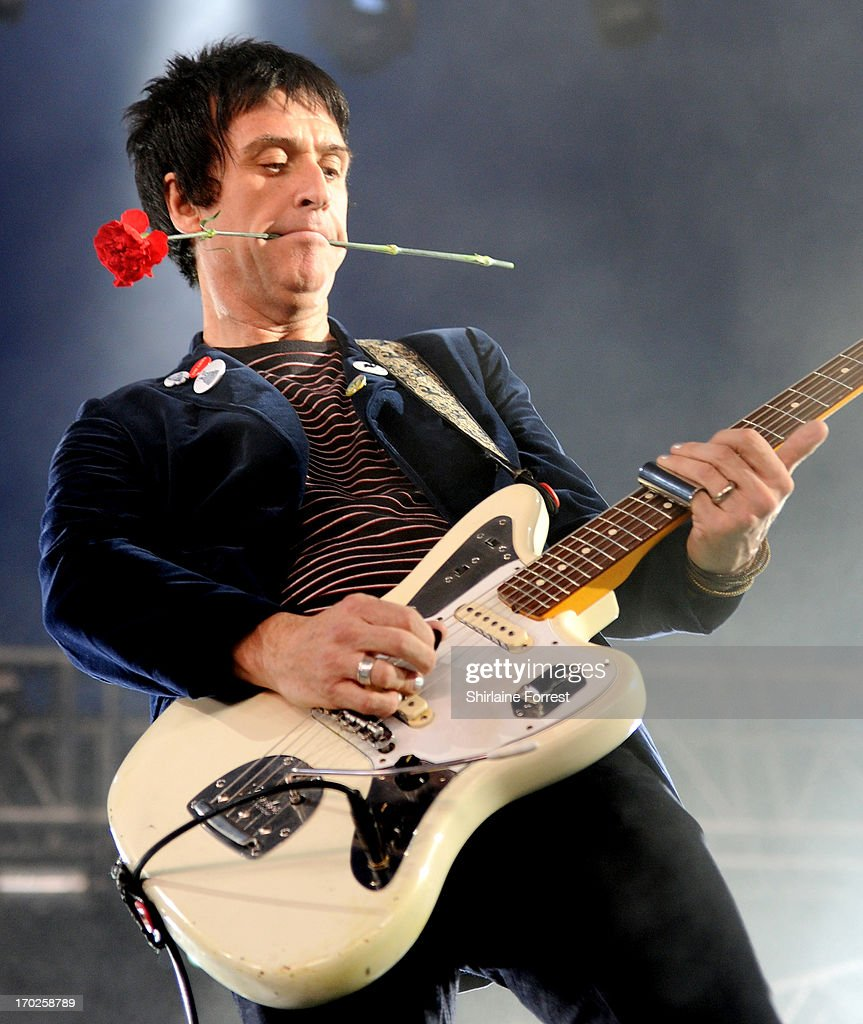 Johnny Marr performs at Day 2 of the Parklife Festival at Heaton Park on June 9, 2013 in Manchester, England.