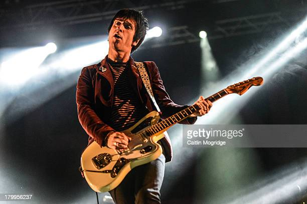 Johnny Marr performs at Day 3 of Bestival at Robin Hill Country Park on September 7 2013 in Newport Isle of Wight