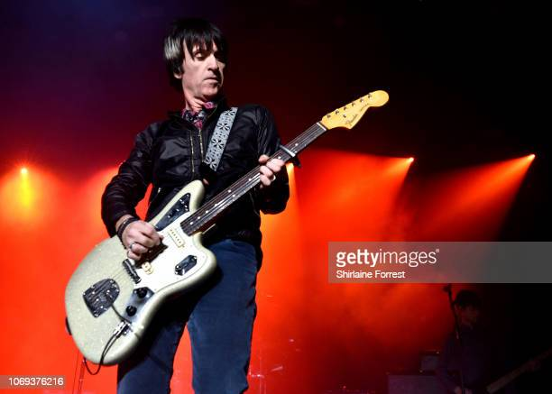 Johnny Marr performs at O2 Apollo Manchester on November 18 2018 in Manchester England