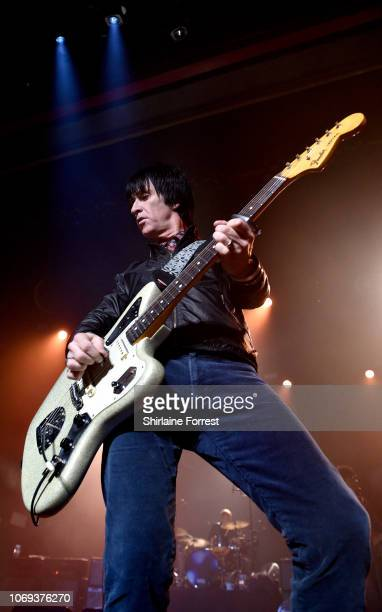 Johnny Marr performs at O2 Apollo Manchester on November 18, 2018 in Manchester, England.