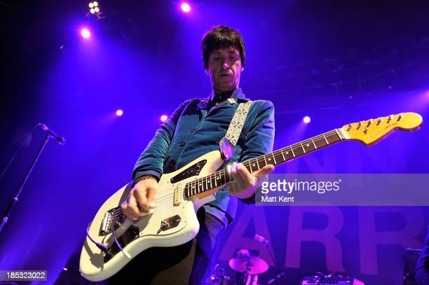Johnny Marr performs at The Roundhouse on October 18 2013 in London England