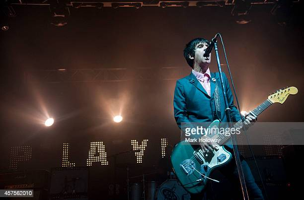 Johnny Marr performs on stage at O2 Academy on October 20 2014 in Bournemouth United Kingdom