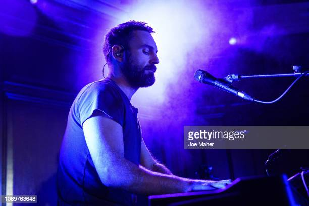 Johnny McDaid of Snow Patrol performs live on stage during a gig in association with Absolute Radio at Porchester Hall on November 19 2018 in London...