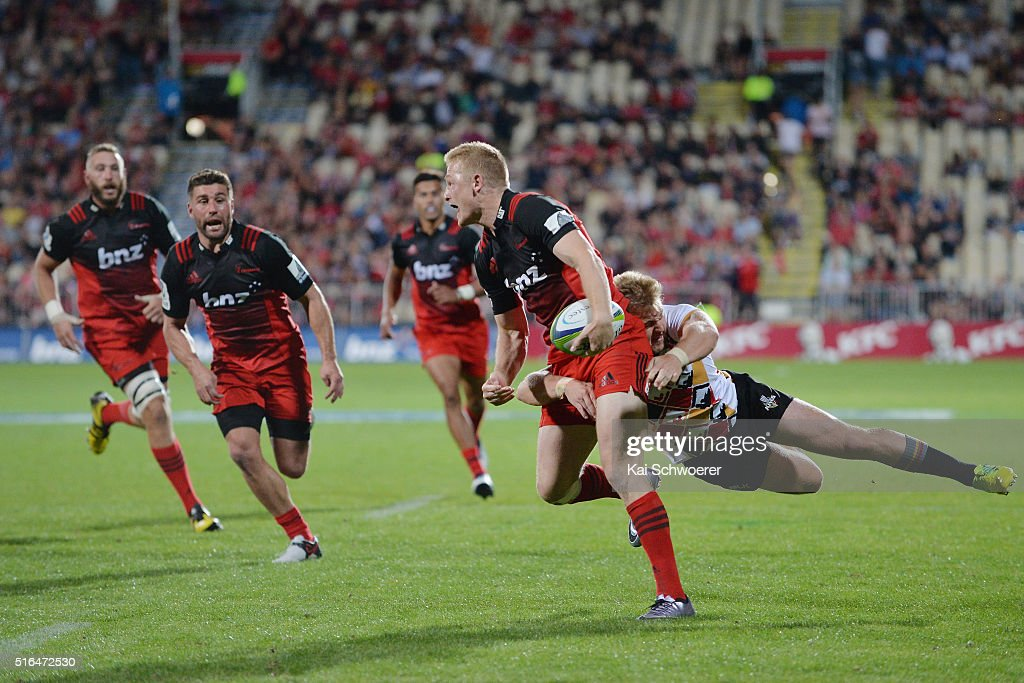 Super Rugby Rd 4 - Crusaders v Kings : News Photo