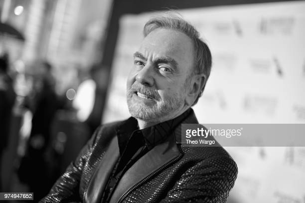 Johnny Mercer Award Honoree Neil Diamond attends the Songwriters Hall of Fame 49th Annual Induction and Awards Dinner at New York Marriott Marquis...