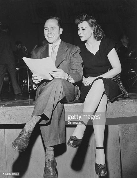 Johnny Mercer with Joan Edwards