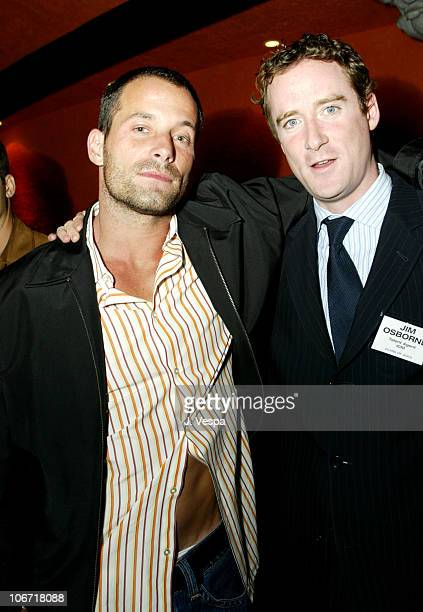 Johnny Messner and Jim Osbourne Talent Agent at ICM