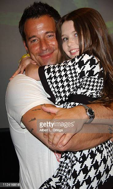 Johnny Messner and Saige Ryan Campbell during Creation Entertainment Presents Fangoria's 2007 Weekend Of Horrors Day 1 at Burbank Airport Marriott...