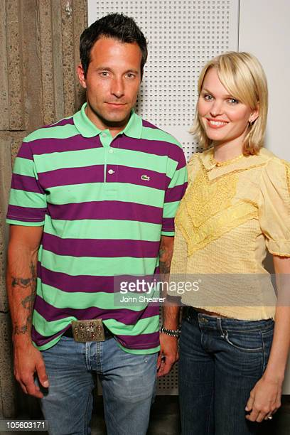 Johnny Messner and Sunny Mabrey during 2006 Newport Beach Film Festival Spotlight Party at Orange County Museum of Art in Newport Beach California...