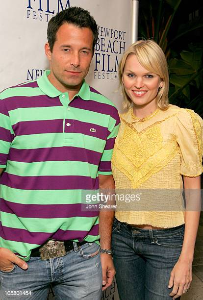 Johnny Messner and Sunny Mabrey during 2006 Newport Beach Film Festival 'One Last Thing' Screening at Lido Cinema in Newport Beach California United...