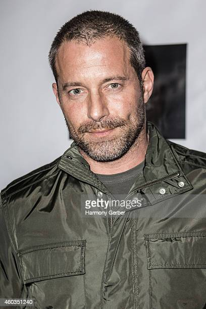 Johnny Messner arrives to the Checkmate Los Angeles Premiere at TCL Chinese 6 Theatres on December 11 2014 in Hollywood California
