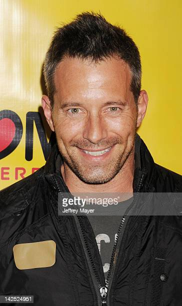 Johnny Messner attends the Los Angeles Premiere of She Wants Me at Laemmle's Music Hall 3 on April 5 2012 in Beverly Hills California