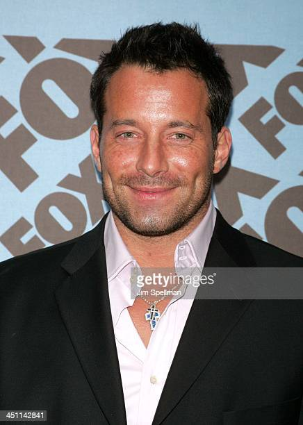 Johnny Messner during 2005/2006 FOX Primetime UpFront Arrivals at Central Park The Boat House in New York City New York United States