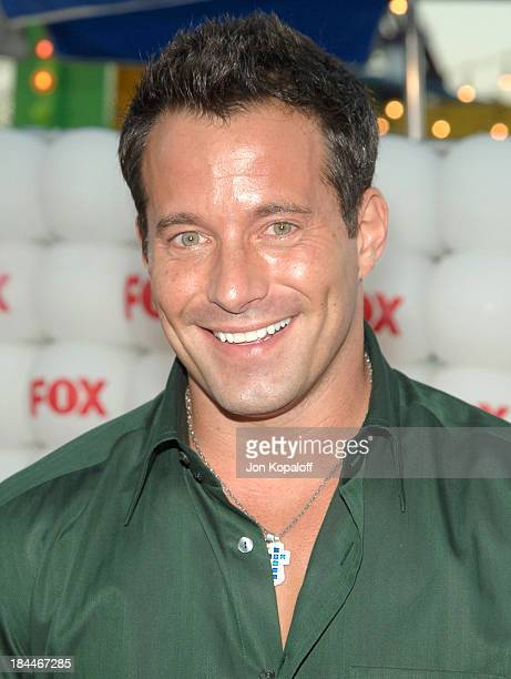 Johnny Messner during FOX Summer 2005 AllStar Party Arrivals at Santa Monica Pier in Santa Monica California United States