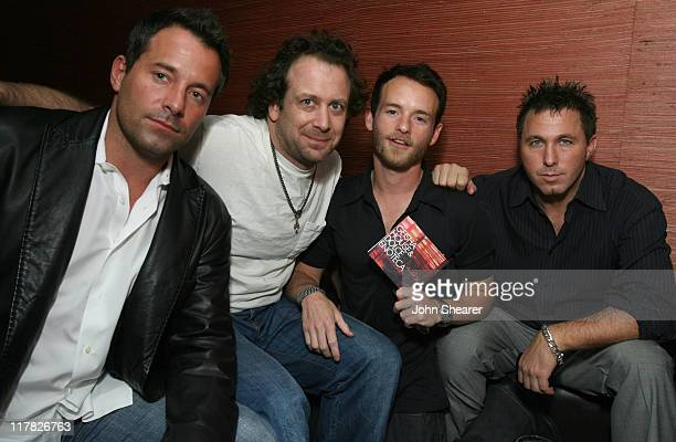 Johnny Messner Josh Warner Chris Masterson and Lonnie Moore