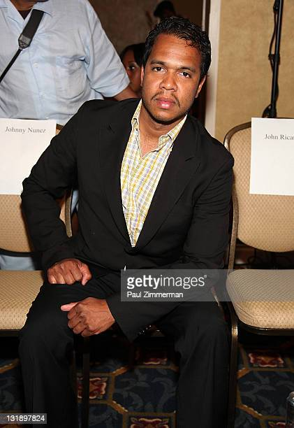 Johnny Nunez attends the 2nd annual Blackout Awards at the Newark Hilton Gateway Hotel on June 12 2011 in Newark New Jersey