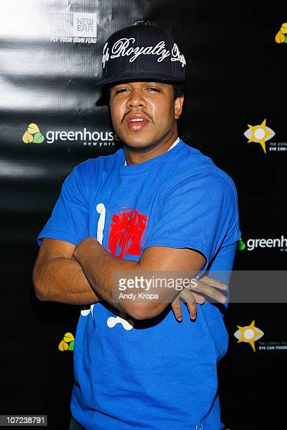 Johnny Nunez attends the New Era Cap Co Inc Launch Party at New Era Flagship Store on December 1 2010 in New York City