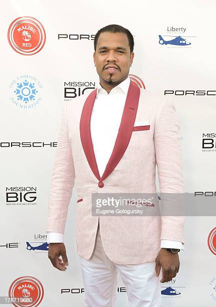 Johnny Nunez attends the The Compound Foundation 2nd Annual Fostering A Legacy Benefit Hosted By NeYO Mission BIG on August 17 2013 in East Hampton...