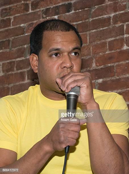 Johnny Nunez attends the Ty Hunter Emoji app launch on December 7 2015 in New York City