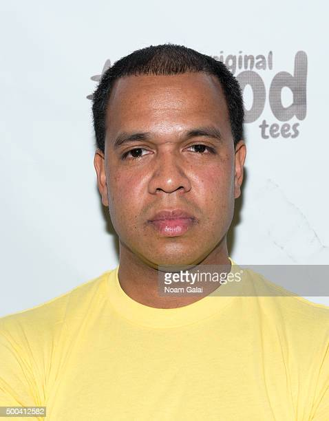 Johnny Nunez attends the Ty Hunter Emoji app launch on December 7 2015 in New York City