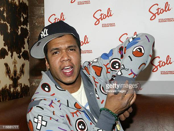 Johnny Nunez during 'Johnny Nunez 10 Years of Entertainment Photography' Sponsored by Stoli Vodka at Home in New York New York United States