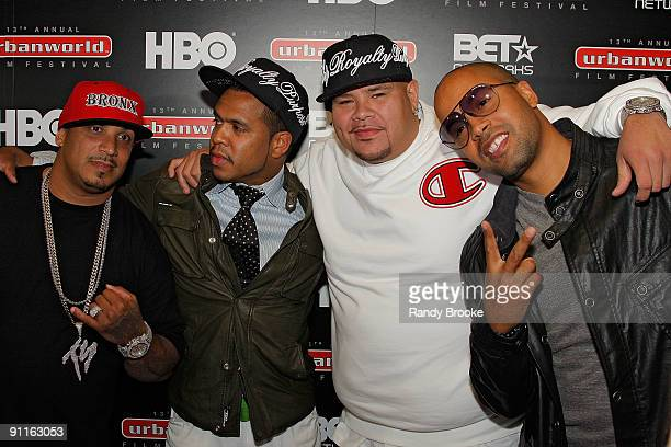 Johnny Nunez Fat Joe and guests attend the premiere of Shooting Stars The Rise of Hip Hop Photographer Johnny Nunez at the AMC Loews West 34th Street...