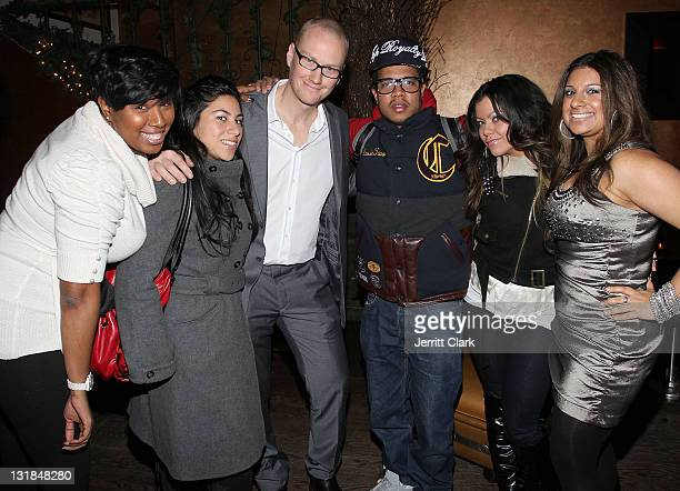 Johnny Nunez Kiran Prasher and guests attend the Shooting Star The Rise of Hip Hop Photographer Johnny Nunez DVD release party at Veranda on December...