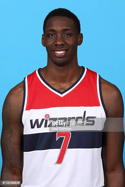 Johnny O'Bryant of the Washington Wizards poses for a head shot during the 20162017 Media Day on September 26 2016 at the Verizon Center in...