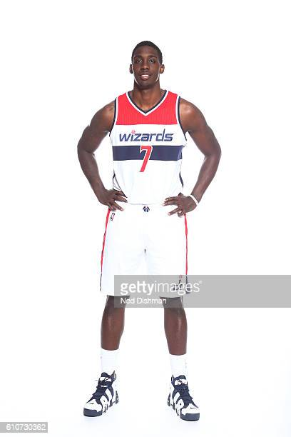 Johnny O'Bryant of the Washington Wizards poses for a portrait during the 20162017 Media Day on September 26 2016 at the Verizon Center in Washington...