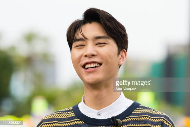 Johnny of NCT 127 visits Extraat Universal Studios Hollywood on May 13 2019 in Universal City California
